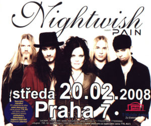 Nightwish & Pain poster
