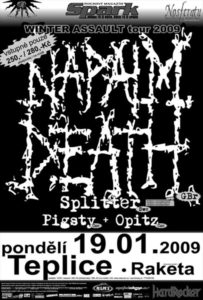Napalm Death poster
