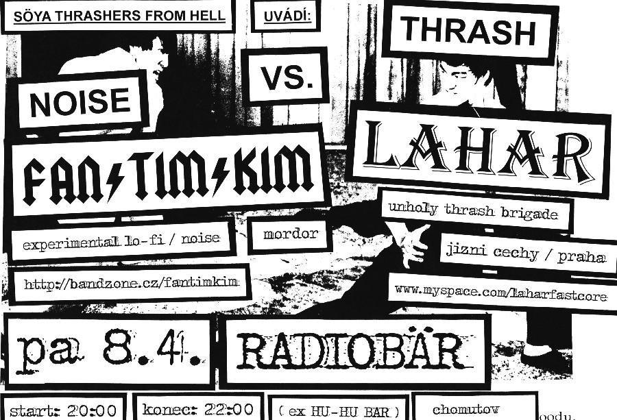 Radiobar - Noise vs. thrash