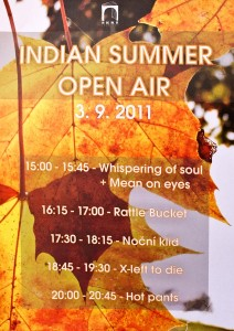 Indian Summer Open Air 2011