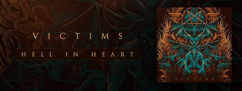 VICTIMS - Hell in Heart - EP - 2016