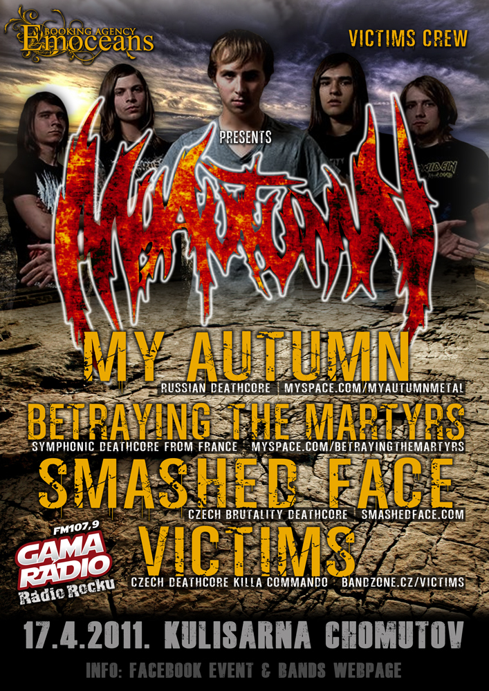 My Autumn, Smashed Face, Victims